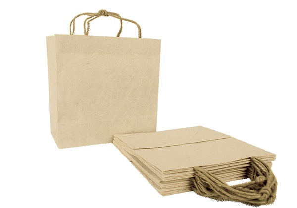 Picture of Eco Handmade Medium Gift Bags Natural Bark