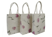 Picture of Eco Handmade Small Gift Bags Bougainvillea