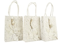 Picture of Eco Handmade Small Gift Bags Flaura