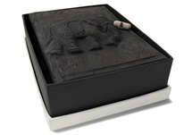 Picture of Elephant Handmade Small Photo Album Ash