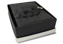 Picture of Elephant Handmade Small Photo Album Ash