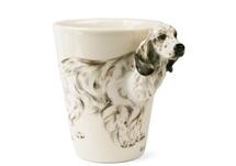 Picture of English Setter Handmade 8oz Coffee Mug Tricolor