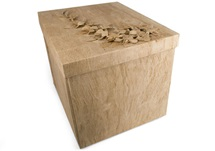 Picture of Flaura Handmade Extra Large Keepsake Box Natural