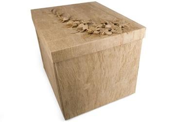 Picture of Flaura Handmade Extra Large Keepsake Box Natural