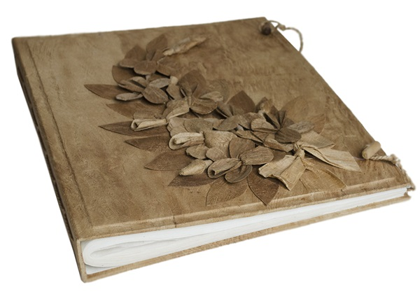 Picture of Flaura Handmade Extra Large Photo Album Natural
