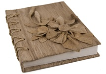Picture of Flaura Handmade A5 Journal Natural Plain