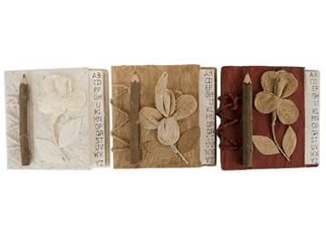 Picture of Flaura Handmade Hand Bound Mini Stocking filler Red Plain