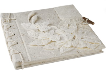 Picture of Flaura Handmade Mini Photo Album White