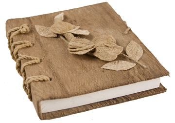 Picture of Flaura Handmade A6 Journal Natural Plain
