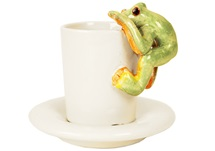 Picture of Frog Handmade Ceramic 2oz Espresso Cup Moss