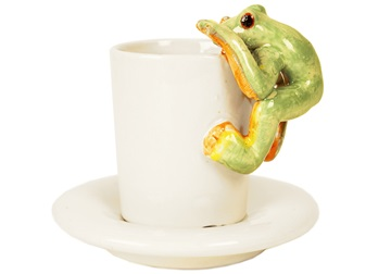Picture of Frog Handmade Ceramic 2oz Espresso Cup Moss
