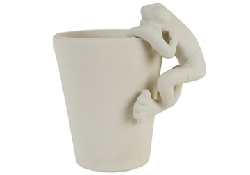 Picture of Frog Handmade Ceramic 8oz Coffee Mug Unpainted