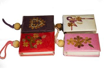 Picture of Funky Mini Jazzy Colour Handmade Purse Journal