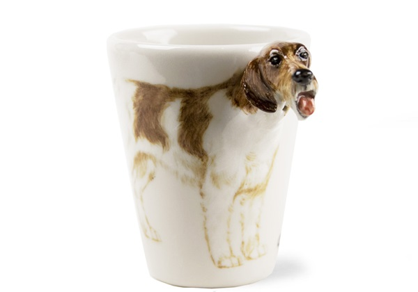 Picture of German Pointer Handmade 8oz Coffee Mug Liver