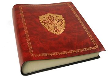 Picture of Giglio Large Russet Gold Handmade Recycled Leather Bound Photo Album