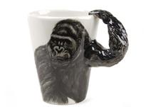 Picture of Gorilla Handmade 8oz Coffee Mug Black