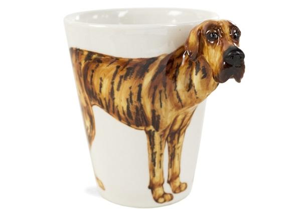 Picture of Great Dane Handmade 8oz Coffee Mug Brindle