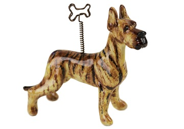 Picture of Great Dane Handmade Mini Picture Holder Brindle