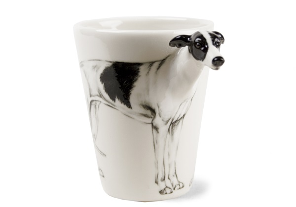 f376c54225d Greyhound Handmade 8oz Coffee Mug