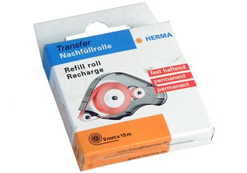 Picture of Hermafix Refill Roll 15 metre Mounting Adhesive Permanent