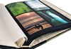 Picture of Hybrid Handmade Leather Bound Large Post Bound Photo Album Ash