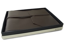 Picture of Indra Handmade Hand Bound Large Photo Album Tan