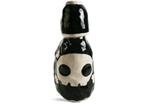 Picture of Jolly Roger Handmade Ceramic 28oz Carafe Black