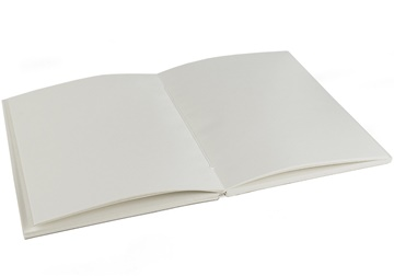 Picture of Khadda Large Cream Recycled Cotton Paper Journal Refill