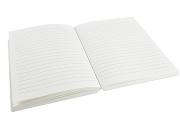 Picture of Khadda Recycled Cotton Paper Mini Journal Refill Cream Plain