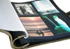 Picture of Khun Handmade Leather Bound Large Post Bound Photo Album Forest