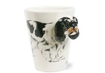 Picture of King Charles Spaniel Handmade 8oz Coffee Mug Black