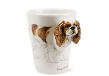 Picture of King Charles Spaniel Handmade 8oz Coffee Mug Fawn