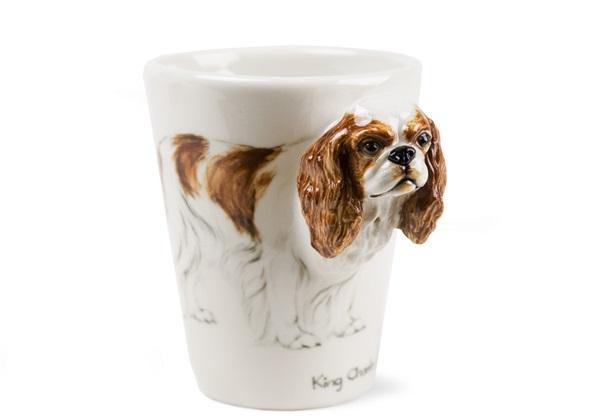Picture of King Charles Spaniel Handmade 8oz Coffee Mug Fawn