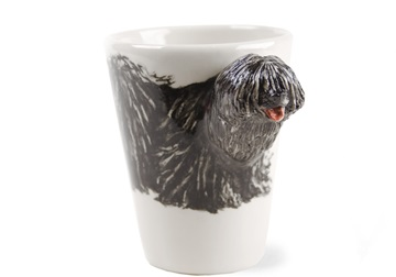 Picture of Komondor Handmade 8oz Coffee Mug Black