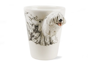 Picture of Komondor Handmade 8oz Coffee Mug White