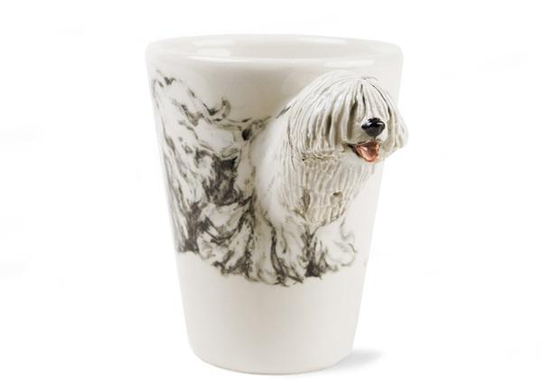 Picture of Komondor Handmade 8oz Coffee Mug White