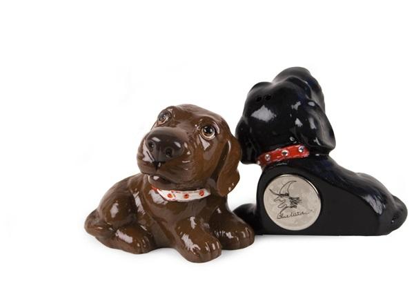Picture of Labrador Retriever Handmade Mini Fridge Magnet Chocolate