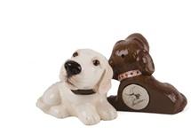 Picture of Labrador Retriever Handmade Mini Fridge Magnet Yellow