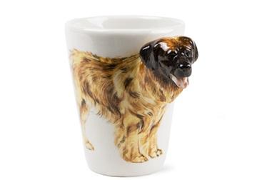 Picture of Leonberger Handmade 8oz Coffee Mug Lion Yellow