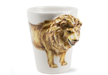 Picture of Lion Handmade 8oz Coffee Mug Tan