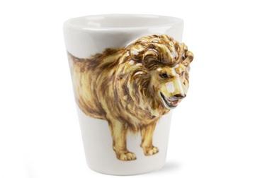 Picture of Lion Handmade 8oz Coffee Mug Tan