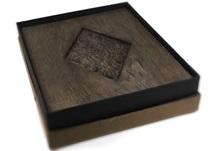 Picture of Lotus Handmade Large Photo Album Ash