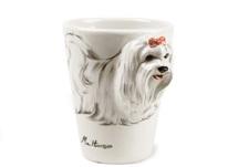 Picture of Maltese Handmade 8oz Coffee Mug White