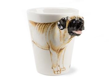 Picture of Mastiff Handmade 8oz Coffee Mug Fawn