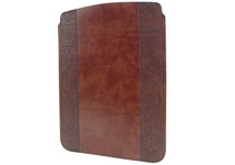 Picture of Maya Handmade Recycled Leather ipad ipad Case Maya Etched