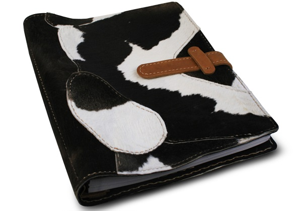 Picture of Medley Handmade Leather Bound Large Post Bound Photo Album Black Bull