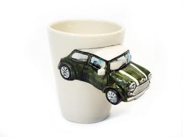 Picture of Mini Cooper Handmade 8oz Coffee Mug Army Green