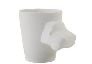 Picture of Mini Cooper Handmade Ceramic 8oz Coffee Mug Unpainted