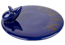Picture of Mouse Handmade Ceramic Classic Cheese Board Blue
