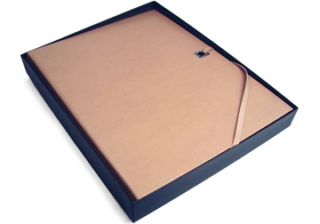 Picture of Naimo Handmade Bound Extra Large Photo Album Beige